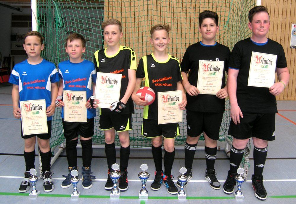 Von Links: Oscar Müller, Paul Pätzold (dritter Platz) Und Die Finalteilnehmer: Franz Kieschnick, Leon Mambk Sowie Rojan Polat, Oliver Klante