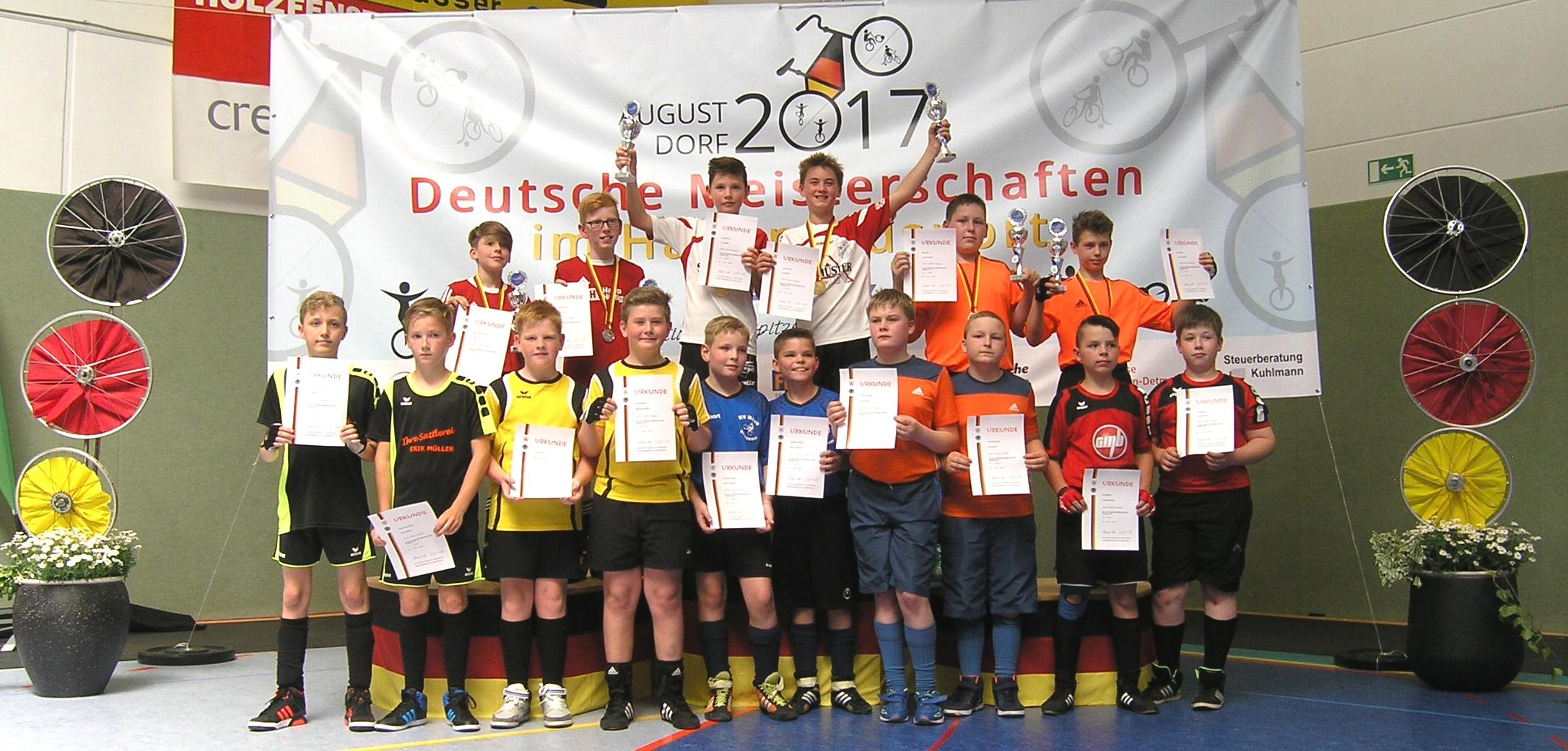 Radball: Koschener Schüler Verpassen Medaille Nur Knapp